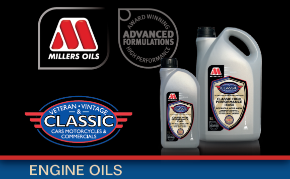 CLASSIC banner engine oil web