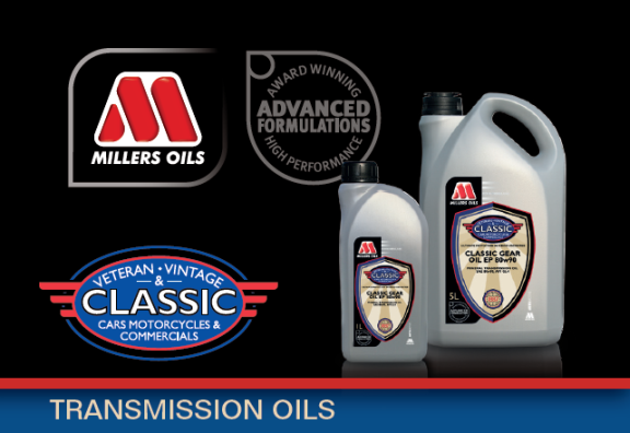 CLASSIC banner transmission oils