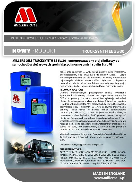 Trucksynth EE 5w30 A4 560