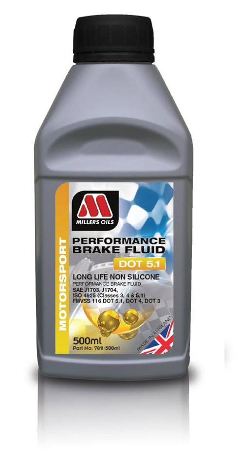 performance brake fluid dot 5
