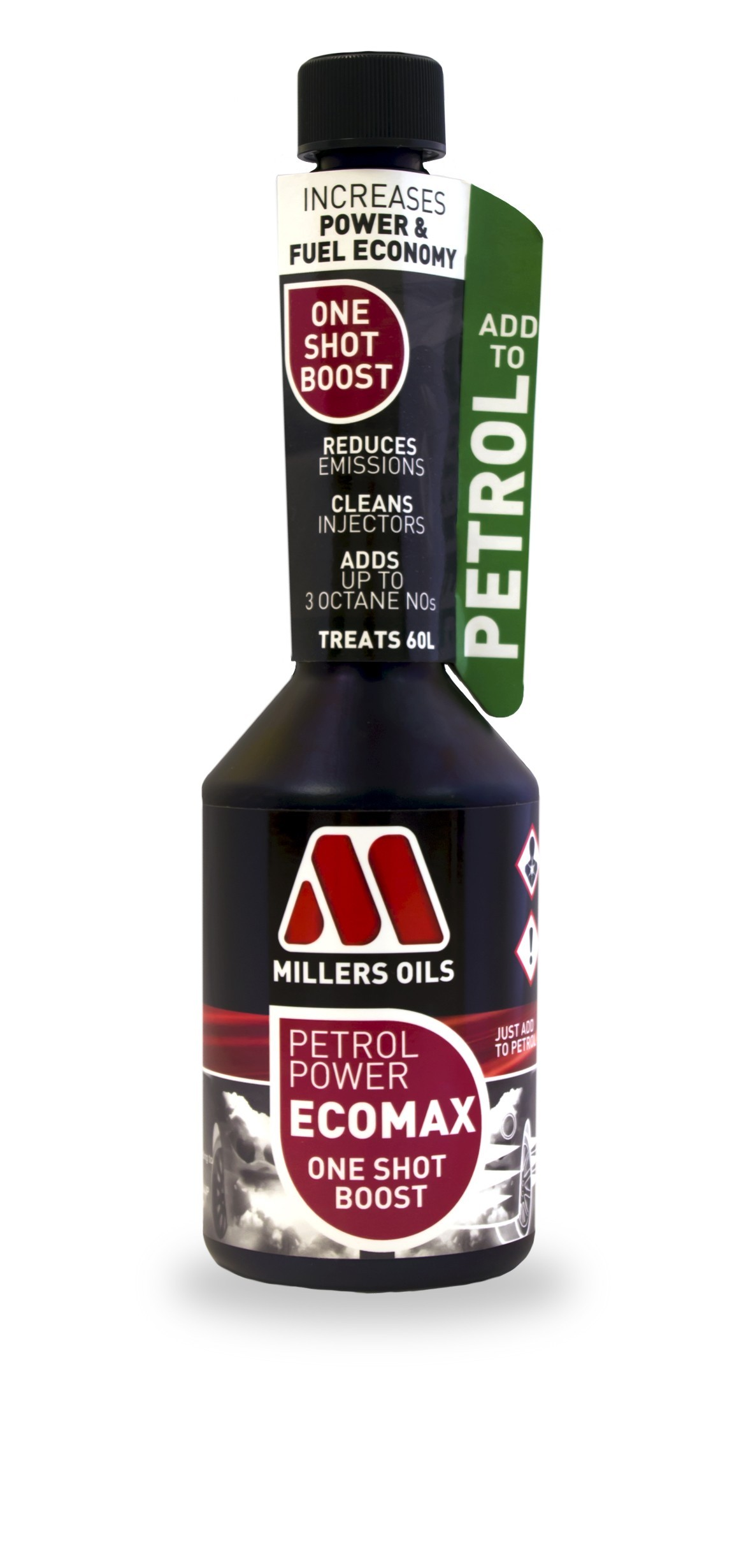 Millers Oils Petrol Power ECOMAX One Shot Boost 250ml
