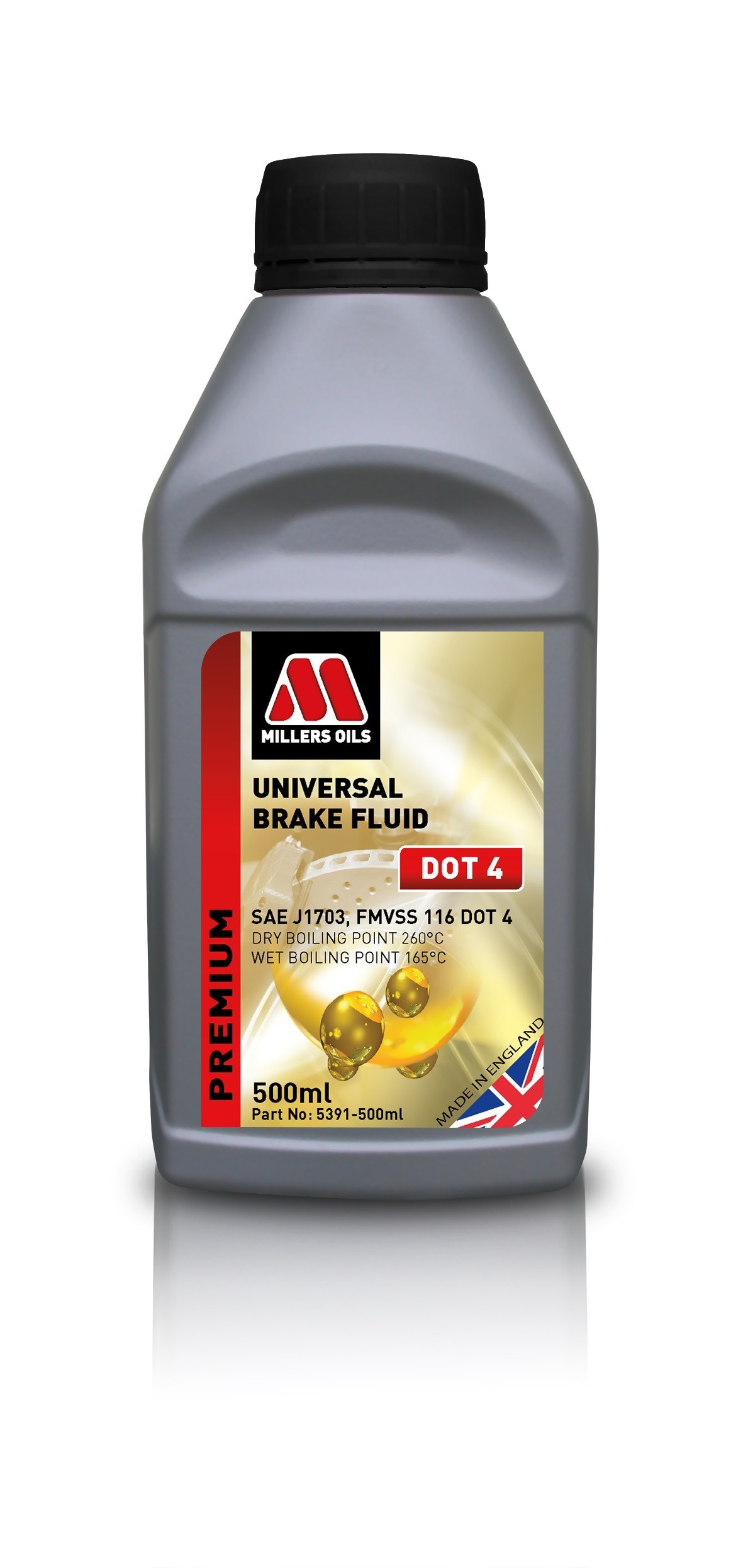 Millers Oils Universal Brake Fluid DOT 4 1l