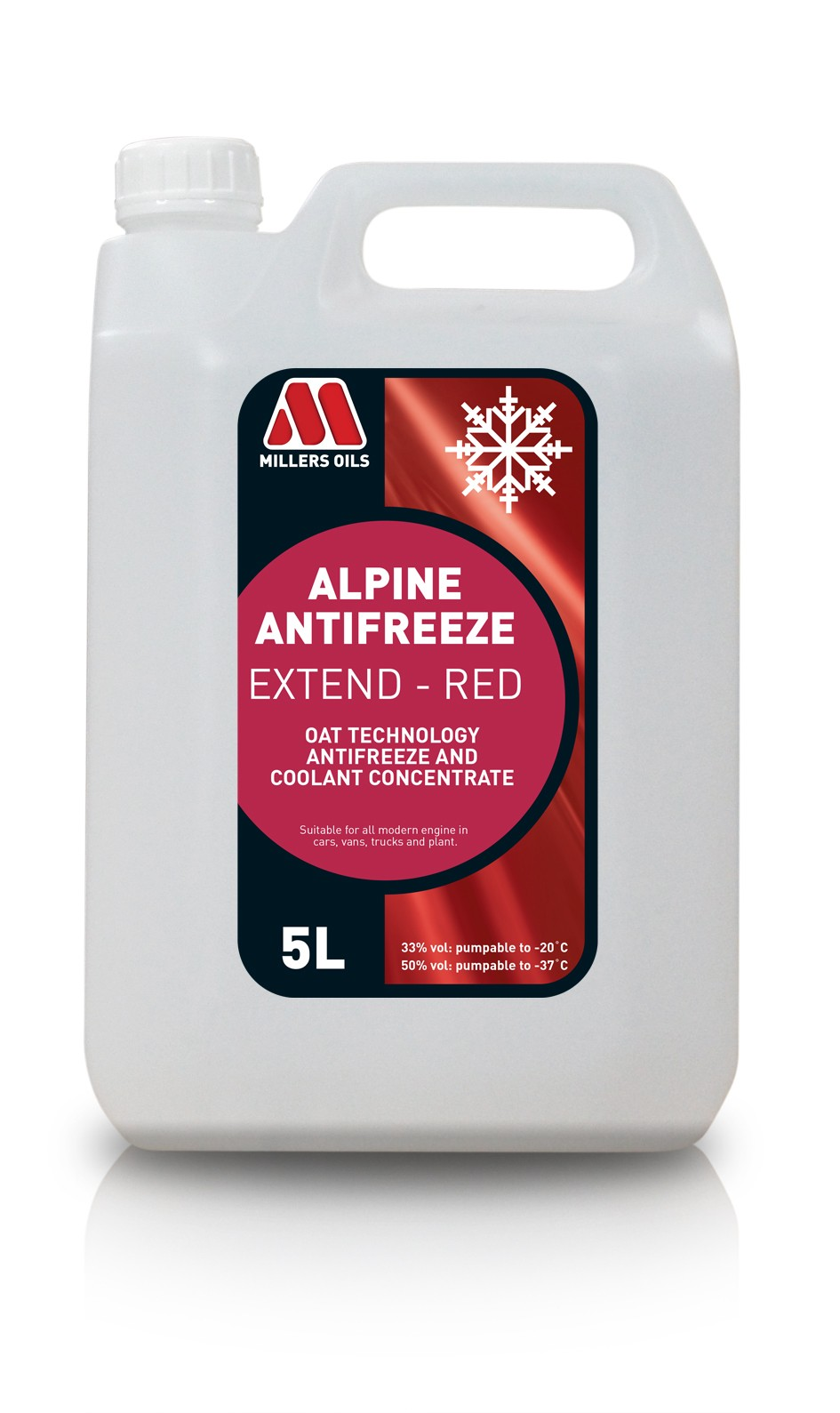 ALPINE ANTIFREEZE EXTEND RED