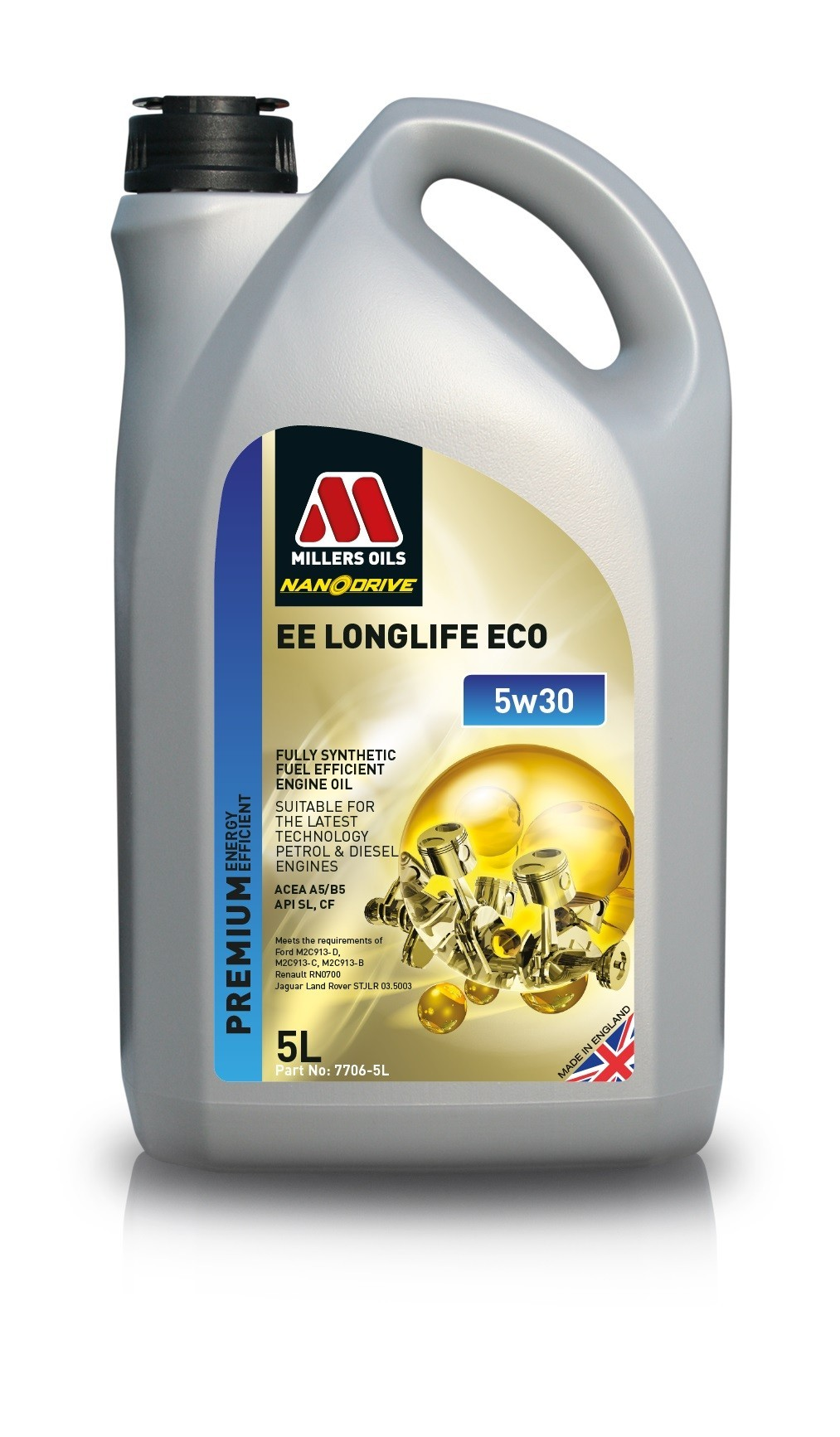 Millers Oils EE Longlife ECO 5w30 5l