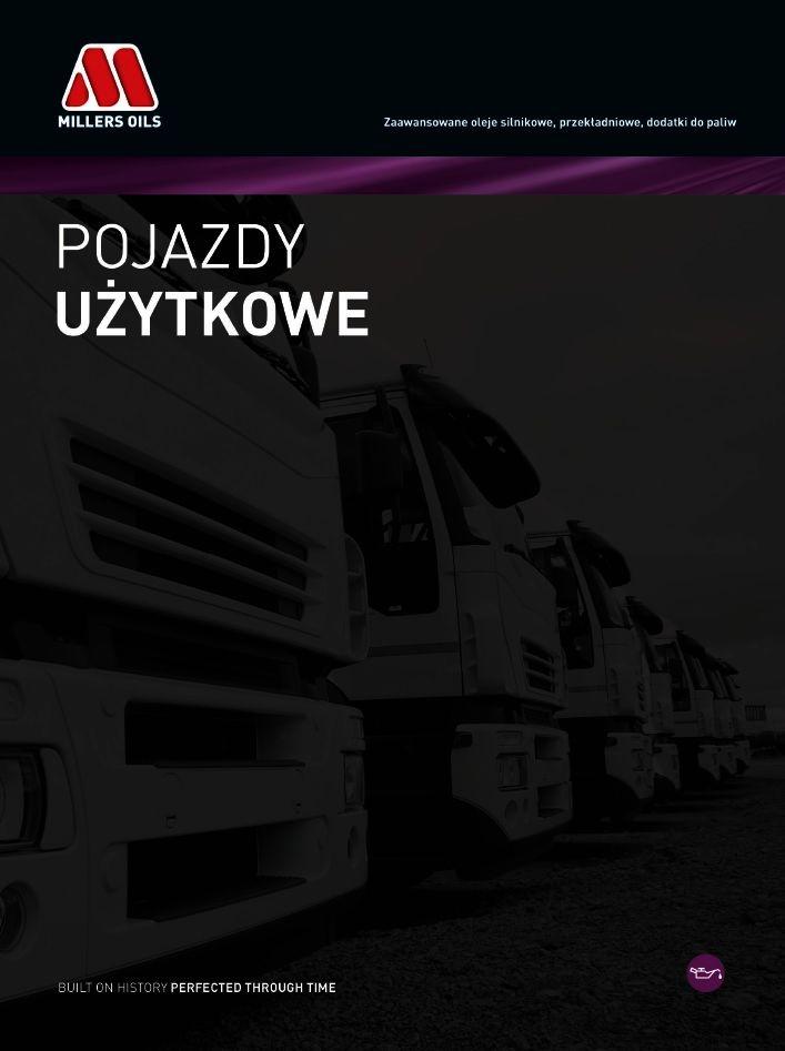 KATALOG PRODUKTÓW MILLERS OILS CV 2015 OKŁADKA