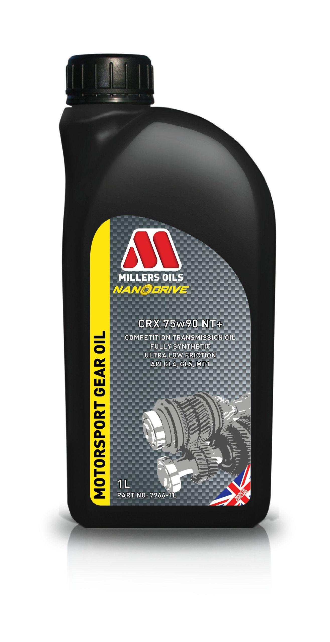 Millers Oils CRX 75w90 NT+ 1L