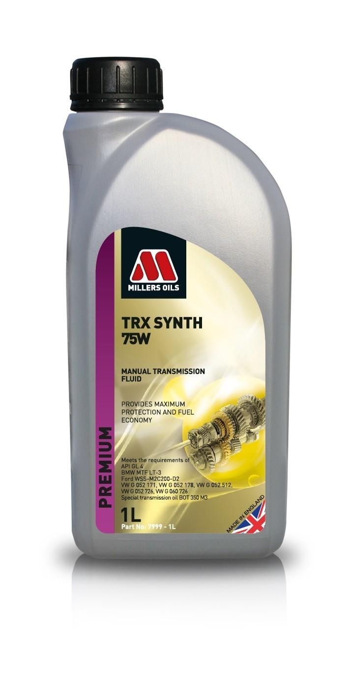 Millers Oils TRX Synth 75w GL4 1L