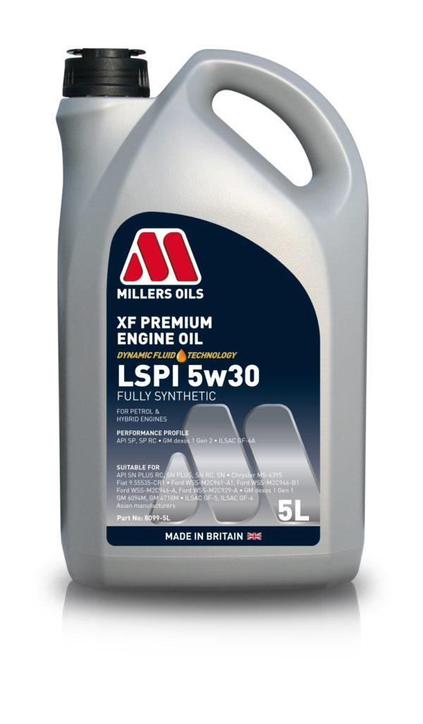 XF PREMIUM LSPI 5w30   Millers Oils