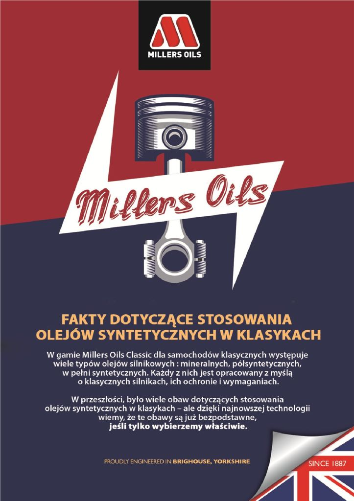 thumbnail of Millers Oils Classic – oleje syntetyczne 2021
