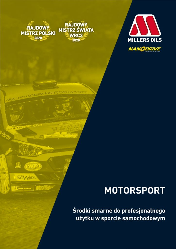 thumbnail of Millers Oils Motorsport 2021