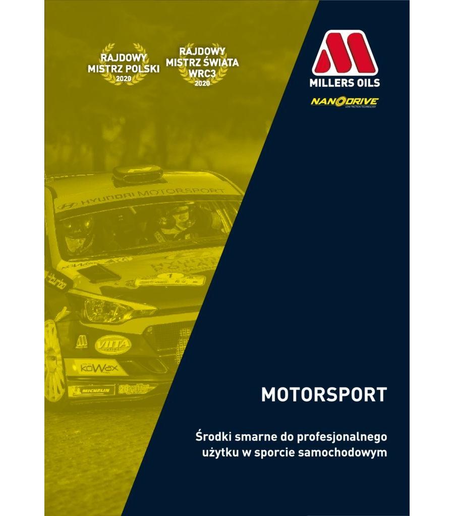 Millers Oils Motorsport 2021
